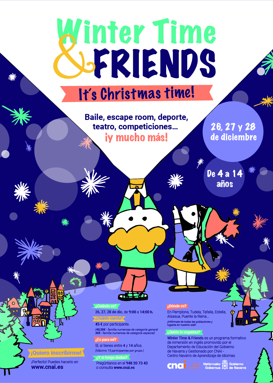 Campaña Winter Time & Friends CNAI