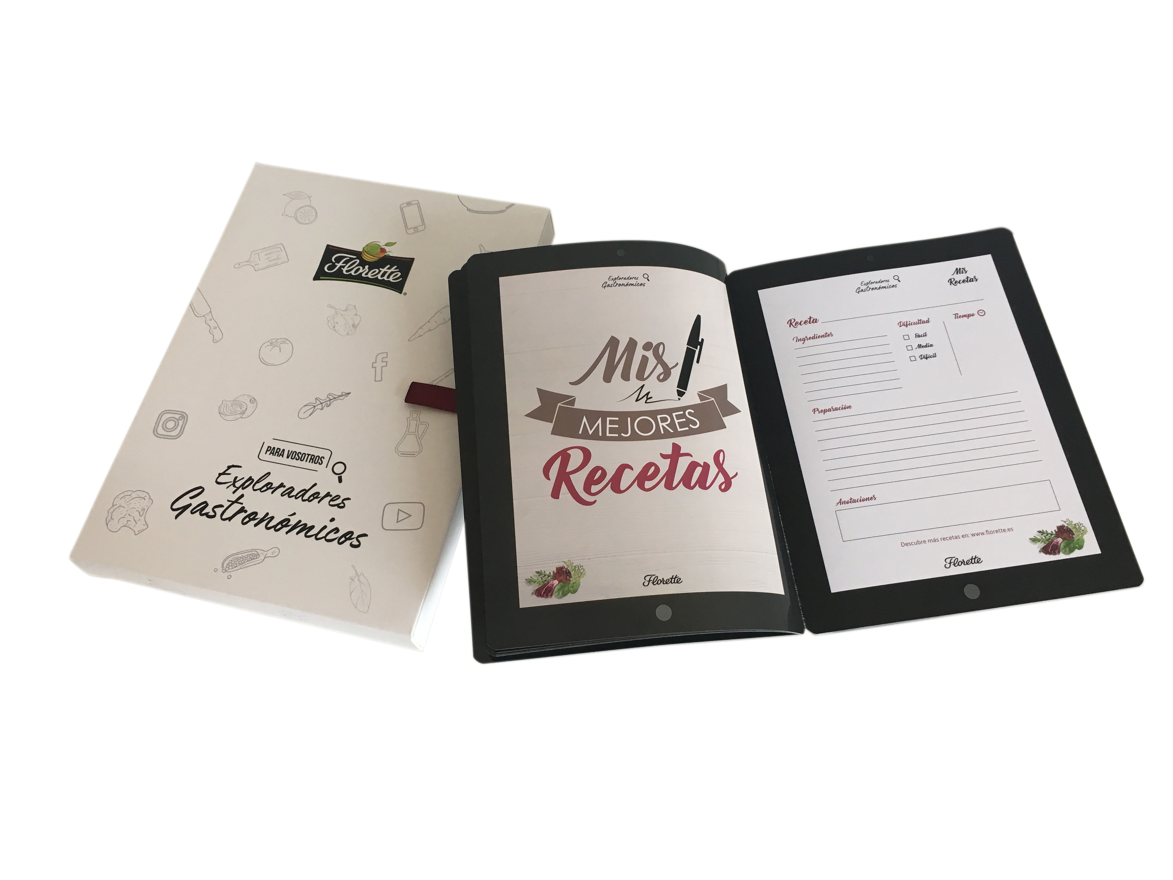 Florette. Trade Kit Exploradores gastronómicos