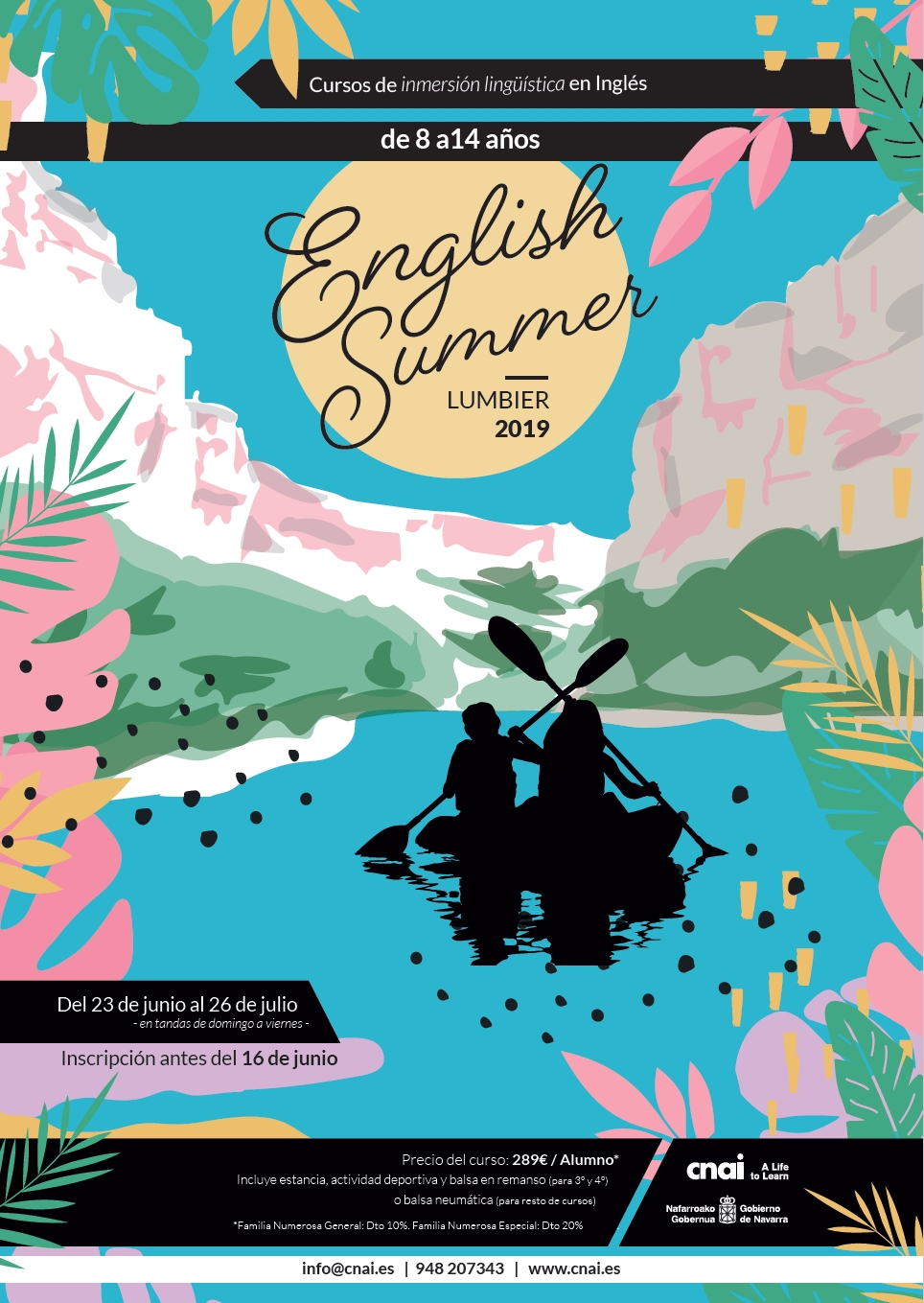 Cartel promocional English Summer